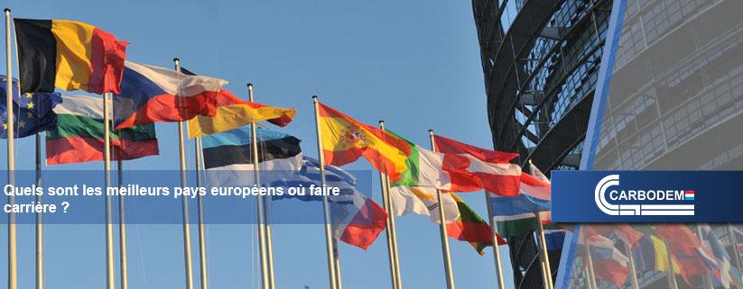 Les meilleurs pays européens où faire carrière